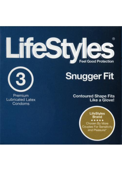 LifeStyles Snugger Fit Condom 3-pack