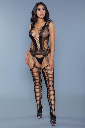 Love Hurts Bodystocking Lingerie & Clothing > Bodystocking Be Wicked