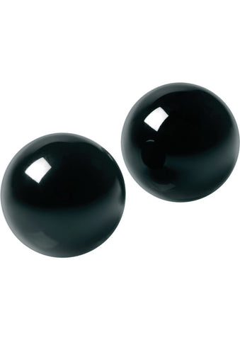 Master Series Jaded Glass Ben Wa Balls