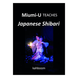 Miumi-U Teaches Japanese Shibari Books & Games > Instructional Books Kahboom
