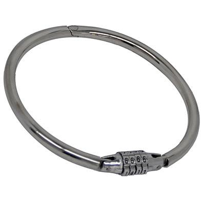 Numbered Lock Metal Slave Collar