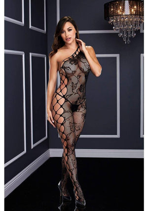 Off the Shoulder Bodystocking Lingerie & Clothing > Bodystocking Baci Lingerie