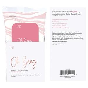 Oh Zang Feminine Cleansing Wipes Bath, Body & Massage Crazy Girl