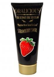 Oralicious Bath, Body & Massage Hott Product Strawberry Swirl