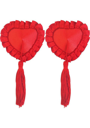 Peekaboos Red Satin with Tassel Lingerie & Clothing > Accessories Peekaboos