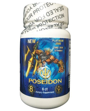Poseidon - Bottle of 6 Enhancers & Supplements *