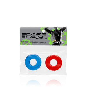 Power Stretch Donuts 2 Pack Erection Rings General Sinovelties