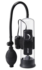 Pump Worx Beginner's Vibrating Pump Penis Pumps Pipedream