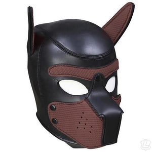 Puppy Mask BDSM > Blindfolds, Masks, & Hoods Kookie Intl. Brown Large
