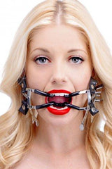 Ratchet Style Jennings Mouth Gag with Strap BDSM > Gags Master Series