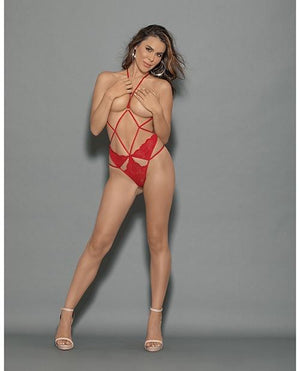 Red Hot Harness Lingerie & Clothing > Lingerie Small-XL Escante'