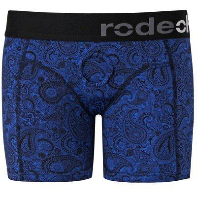 RodeoH Royal Blue Paisley Biker Short Harness
