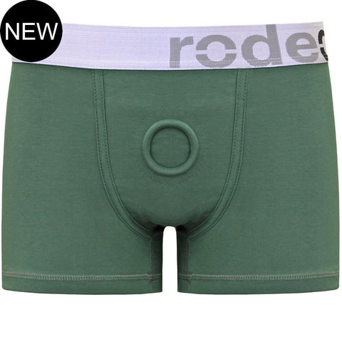 RodeoH Sage Green Boxer Harness