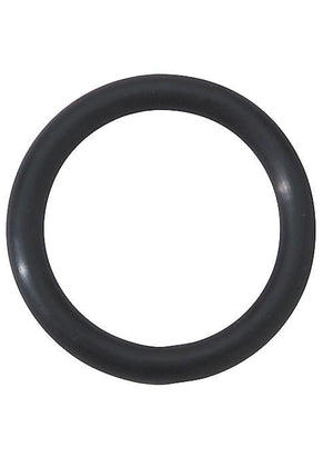 Rubber Cock Ring, Black Erection Rings Spartacus