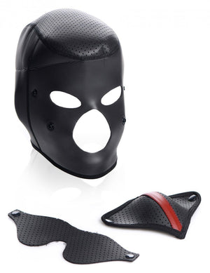 Scorpion Hood with Removable Blindfold and Face Mask BDSM > Blindfolds, Masks, & Hoods Master Series