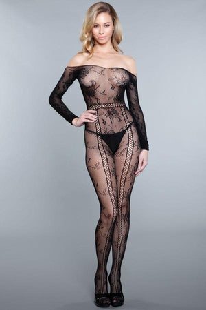 Silent Movies Bodystocking Lingerie & Clothing > Bodystocking Be Wicked