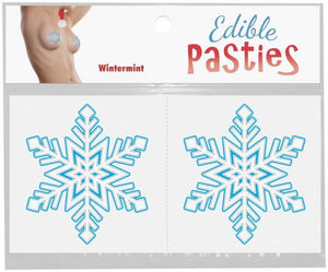 Snowflake Wintermint Edible Pasties Lingerie & Clothing > Accessories Kheper Games