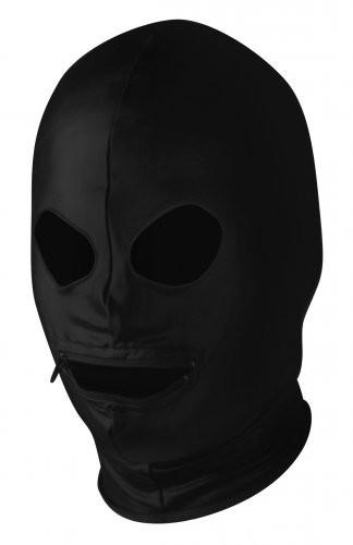 Spandex Hood w/ Zipper Mouth and Eye Holes