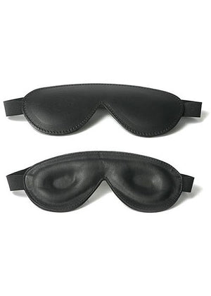 Strict Padded Leather Blindfold, Black BDSM > Blindfolds, Masks, & Hoods Frisky Business Boutique