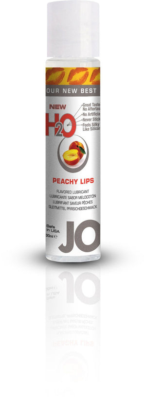 System JO Flavored Lubricant, 1 oz Lubricants System JO Peachy Lips