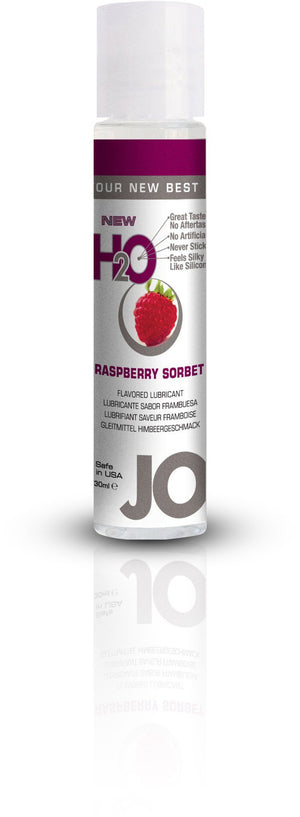 System JO Flavored Lubricant, 1 oz Lubricants System JO Raspberry Sorbet