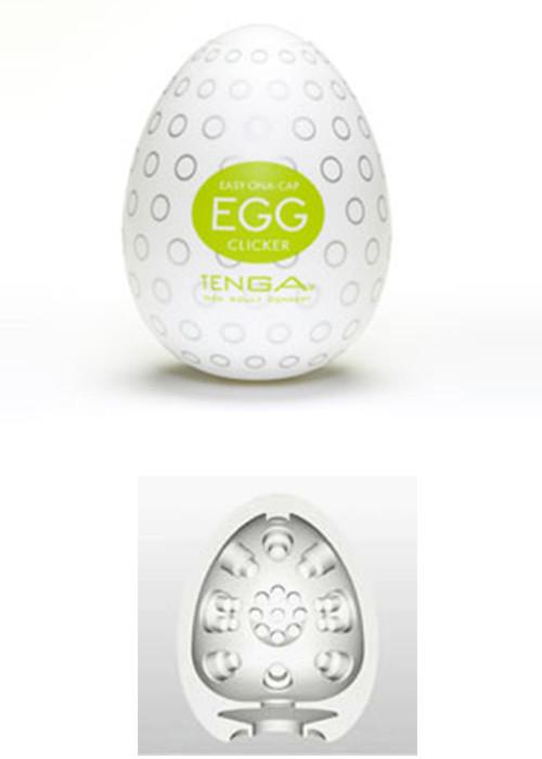 Tenga Egg - Clicker Masturbation Sleeves Tenga