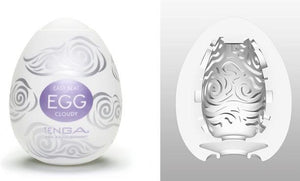 Tenga Egg Hard Boiled Edition Cloudy Masturbation Sleeves Liberator