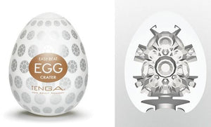 Tenga Egg Hard Boiled Edition Crater Masturbation Sleeves Liberator