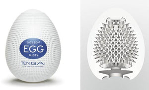 Tenga Egg Hard Boiled Edition Misty Masturbation Sleeves Liberator