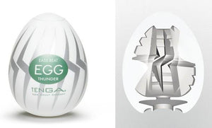 Tenga Egg Hard Boiled Edition Thunder Masturbation Sleeves Liberator