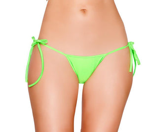 Tie Side Pucker-Back Lined Bottom Lingerie & Clothing > Club Wear Roma