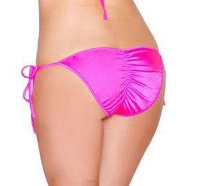 Tie Side Pucker-Back Lined Bottom Lingerie & Clothing > Club Wear Roma Baby Pink