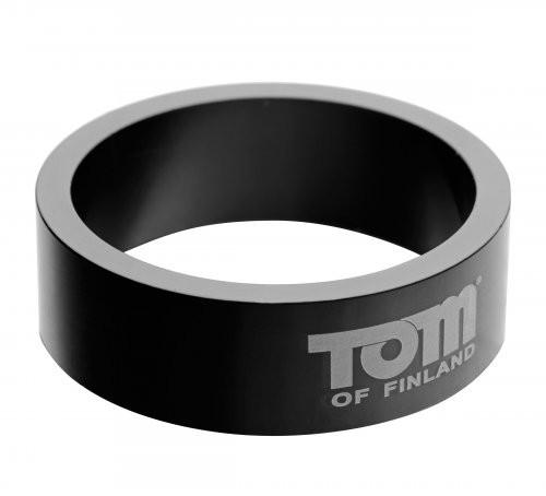Tom of Finland 60mm Aluminum Cock Ring Erection Rings XR Brands