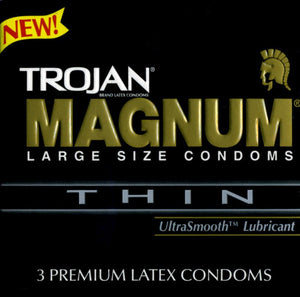 Trojan Magnum Thin Condoms & Safe Sex Trojan
