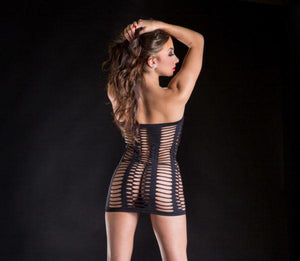Tube Dress with Oval Cut-Outs Lingerie & Clothing > Lingerie Small-XL Beverly Hills Naughty Girl