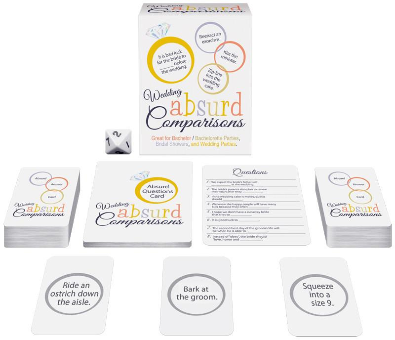 Weddings Absurd Comparisons Game Books & Games > Games Kheper Games