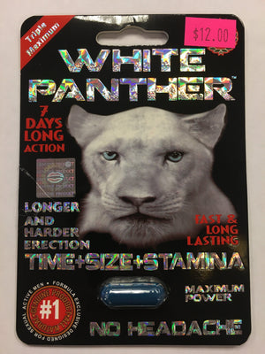 White Panther Enhancers & Supplements *