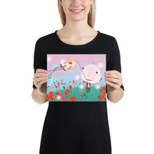 Load image into Gallery viewer, Goby Fish and The Candy Cane Shrimp Big Head Bob Poster