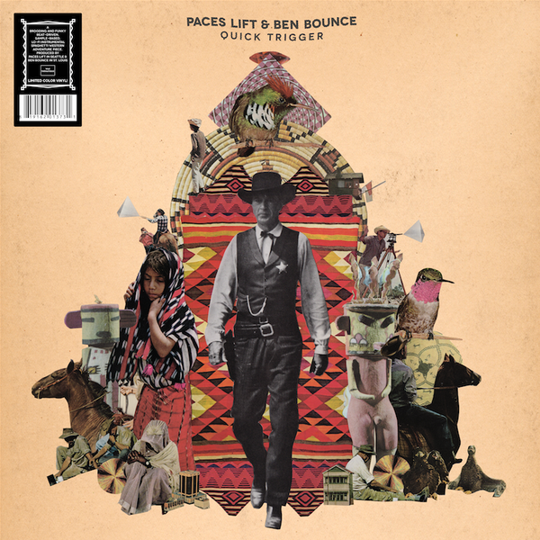 "Paces Lift and Ben Bounce ""Quick Trigger"" Limited Color Vinyl"