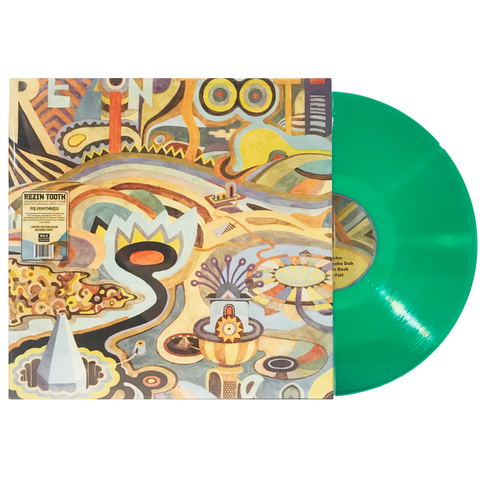 Rezin Tooth / Polyrhythmics - Limited Color Vinyl LP [DUB/REGGAE]