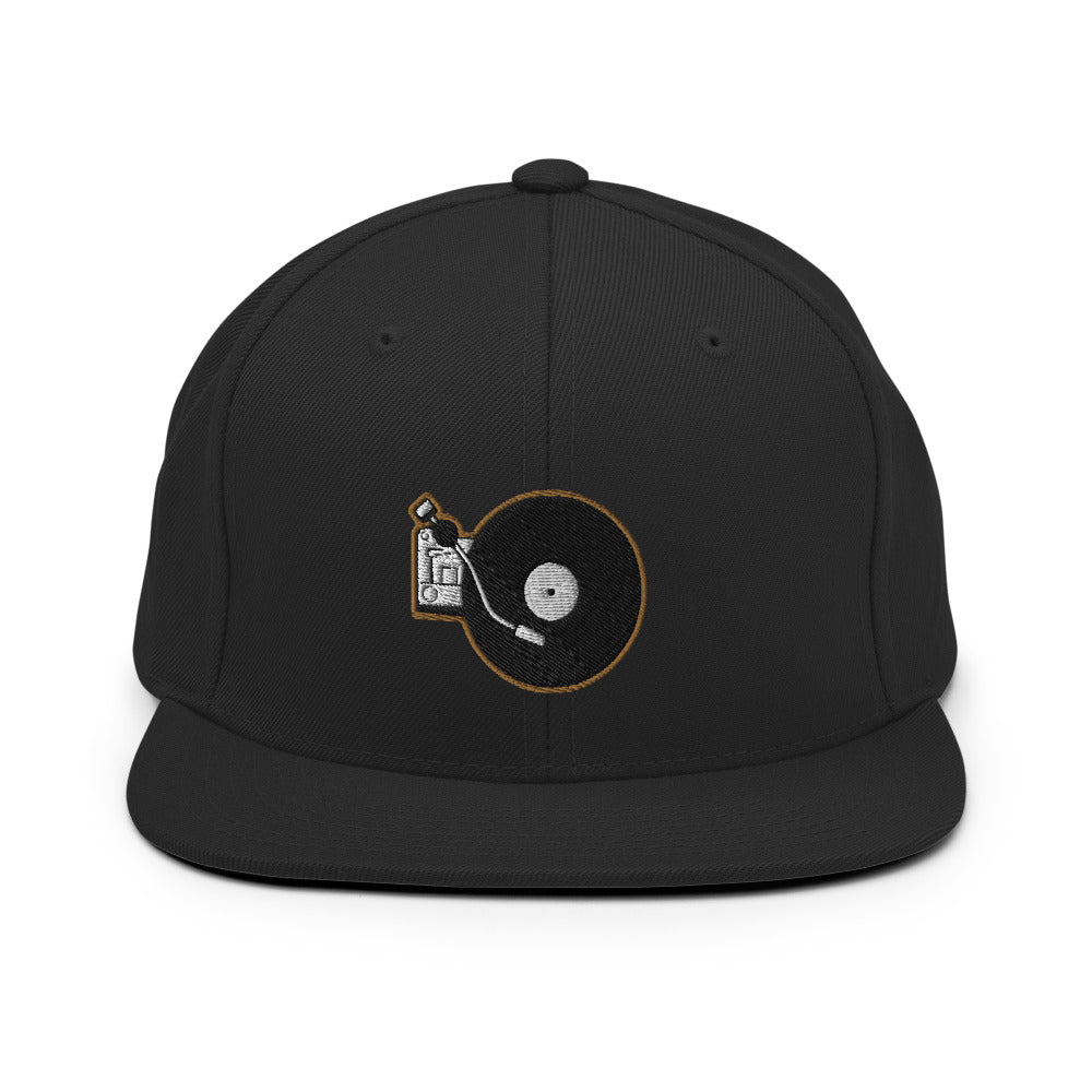 Portable Wax - Snapback Hat (Black/Gold)