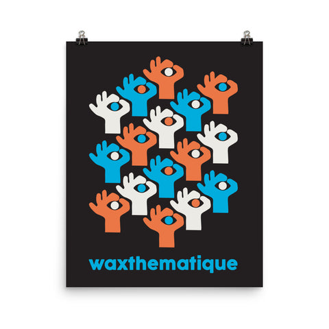 Wax Hands by The Ohmu - Premium Poster (Black)