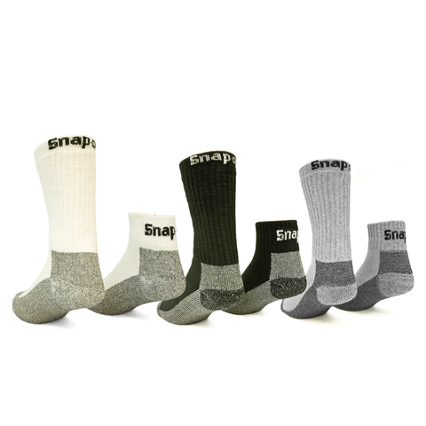 Snap-on Socks Made in USA