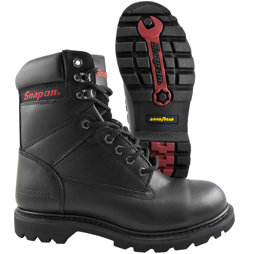 0cbcad91ded Snap-on Super V8, 8-Inch Steel Toe Work Boot - Coastal Boot