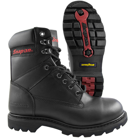 Snap-on Super V8, 8-Inch Steel Toe Work Boot