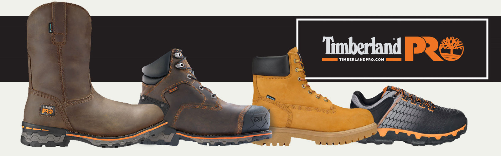 Timberland PRO only at Coastal Boot