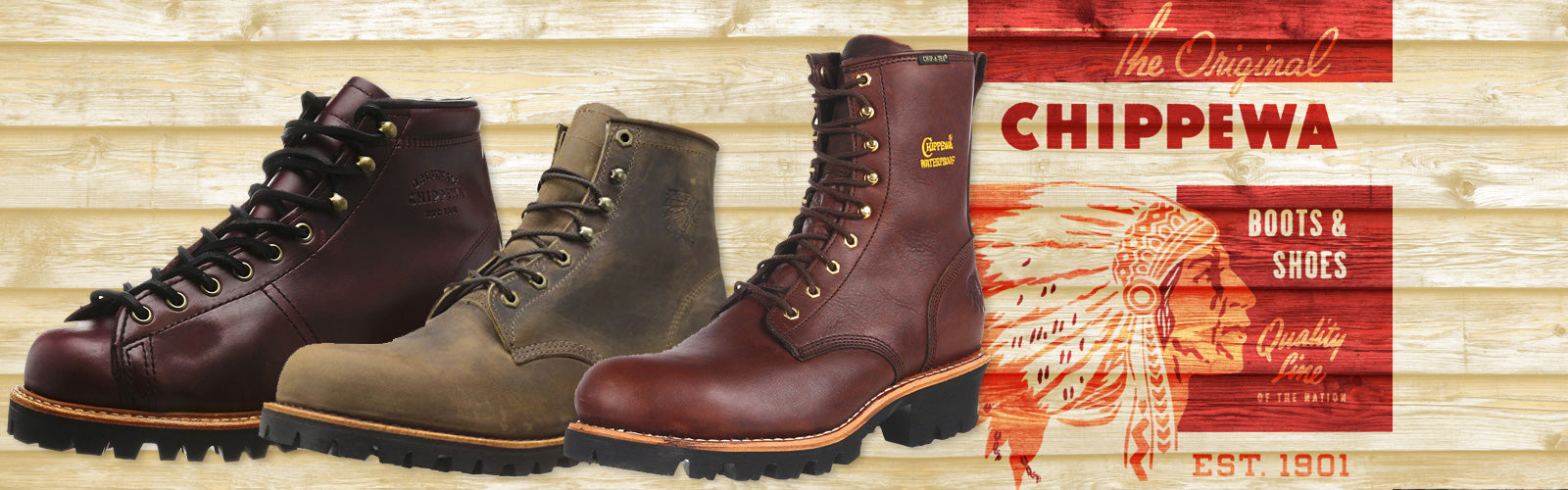 Chippewa Boots only at Coastal Boot
