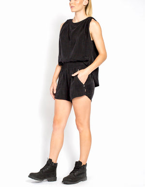 Cupro Short [ BLACK ]
