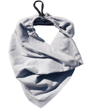 SCARF FACE + THE TEE [ H GREY ]