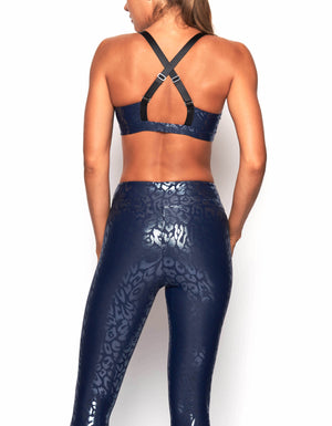 One47 Bra [ navy cheetah ]